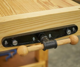 Installing a Quick Release End Vise