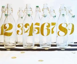 Wedding DIY: Table Numbers