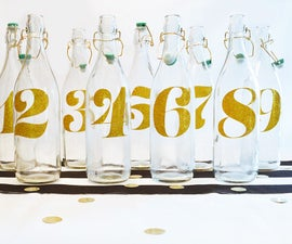 Wedding DIY: Table Numbers
