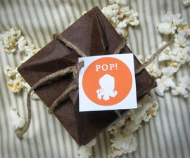 Origami Pop-up Popcorn Cards