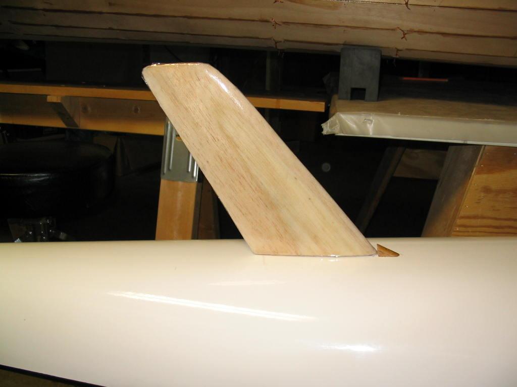 Picture of Homemade Rudder for Surfski