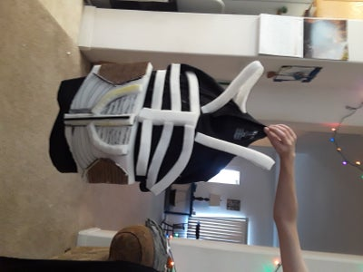 Step 3: the Ribs,  Abdomen, Tubes, and Tail