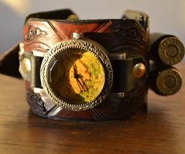 Derringer Duelist Steampunk Watch