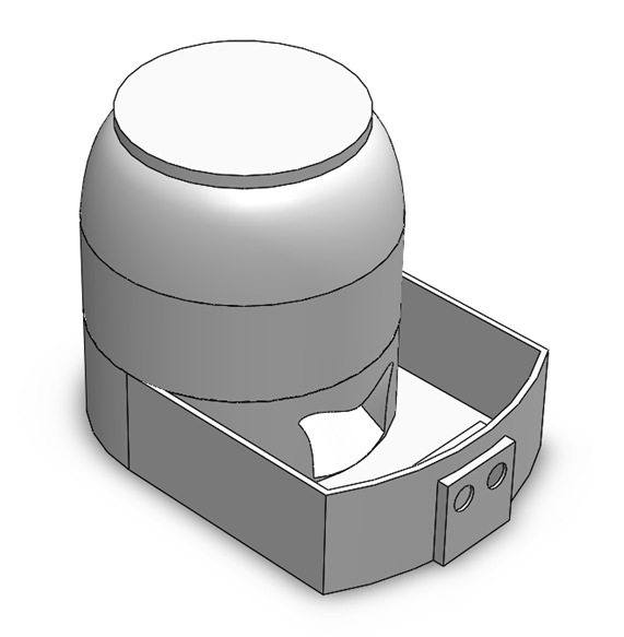 Picture of Automated Food Bowl - Materials