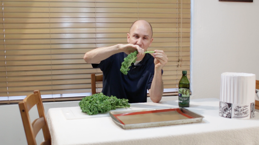 Remove Kale From Stem