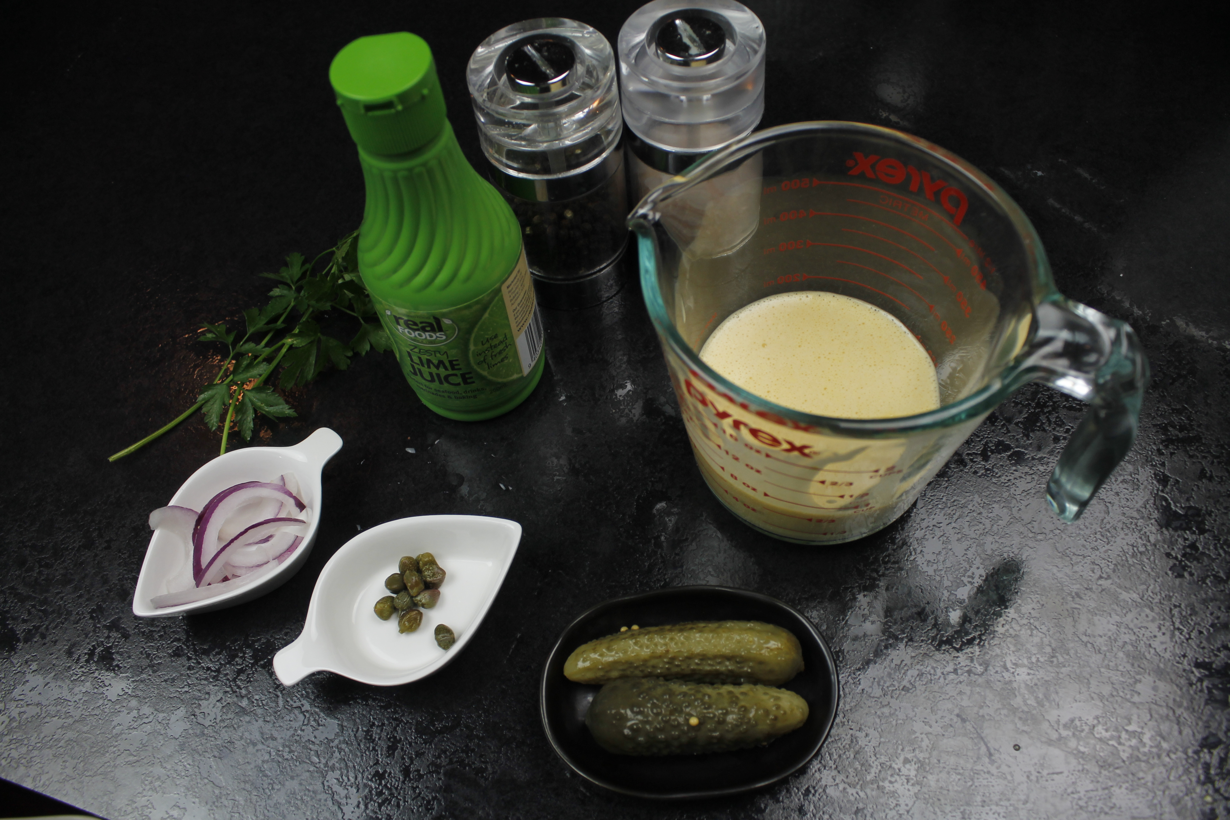 Picture of Now on to Making the Tartare Sauce