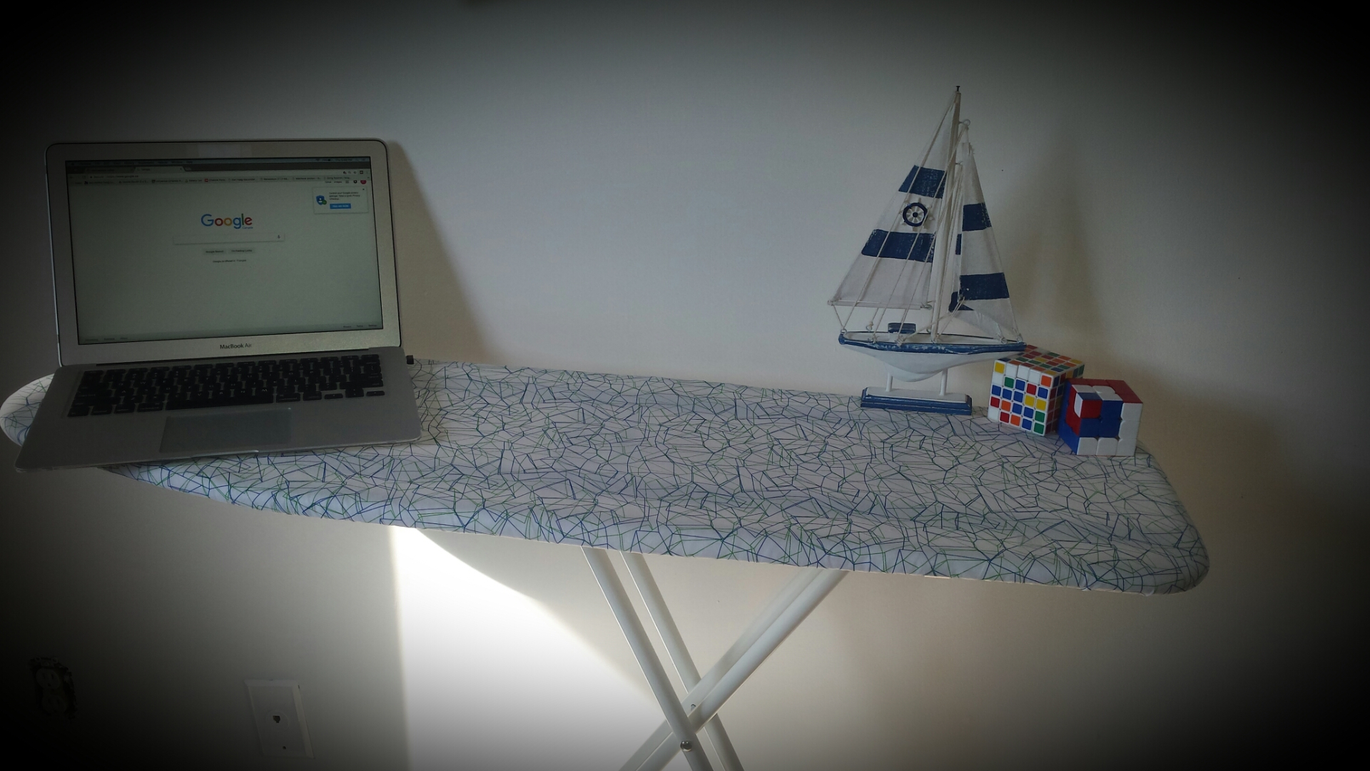 Picture of Get Your Ironing Board & Use It As a Stand Up Desk