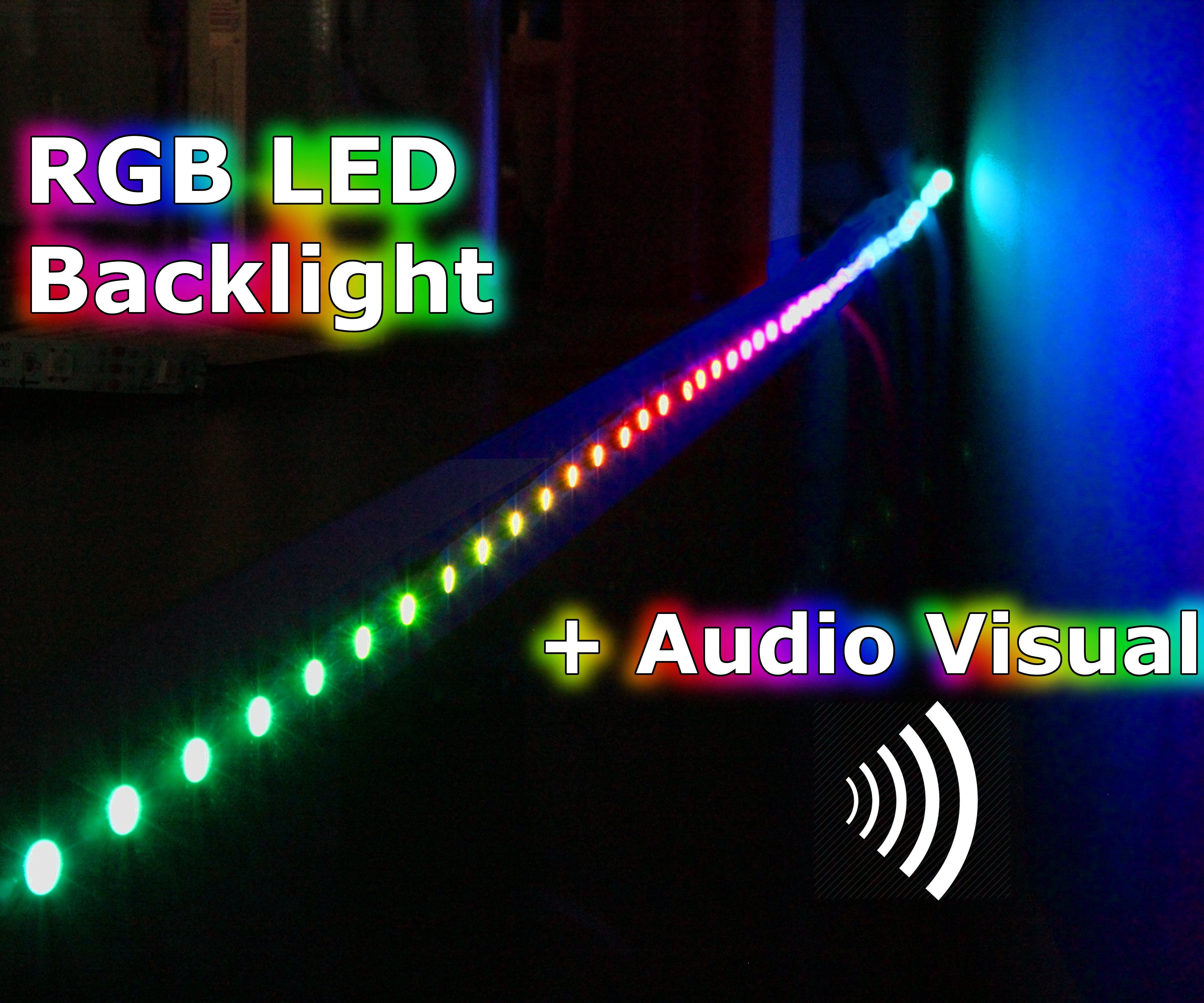 RGB Backlight + MSGEQ7 Audio Visualizer: 4 Steps (with Pictures)