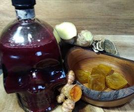 Turkey Tail Mushroom Stock and Syrup