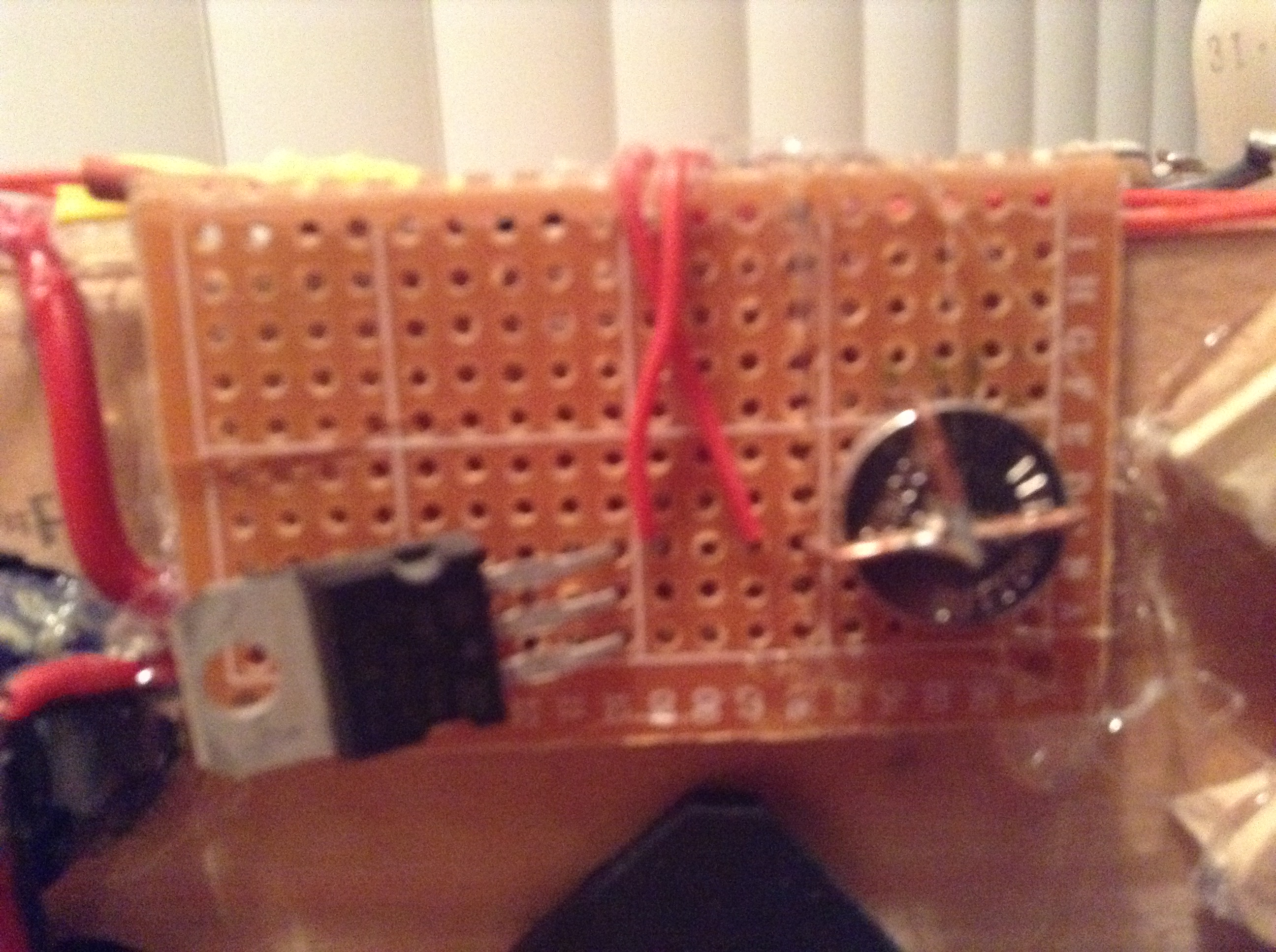 Picture of Assembling the SCR Trigger Circuit
