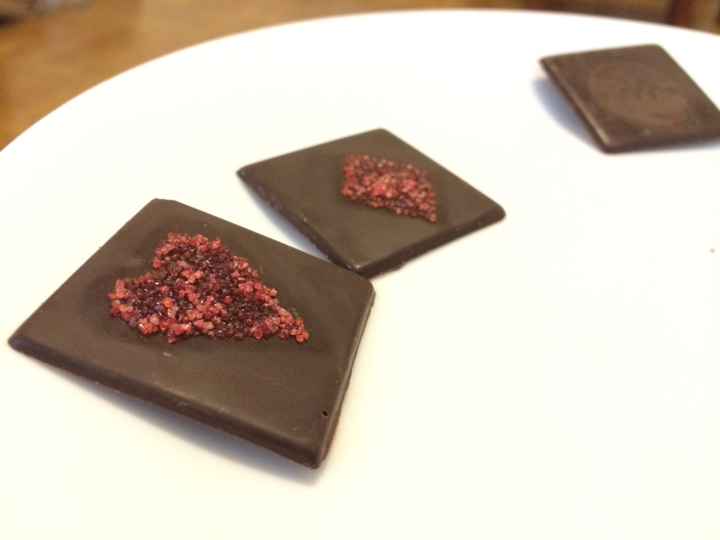 Picture of Caramelize Sugar Onto Chocolate With a Laser Cutter