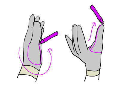 Drafting the Thumb