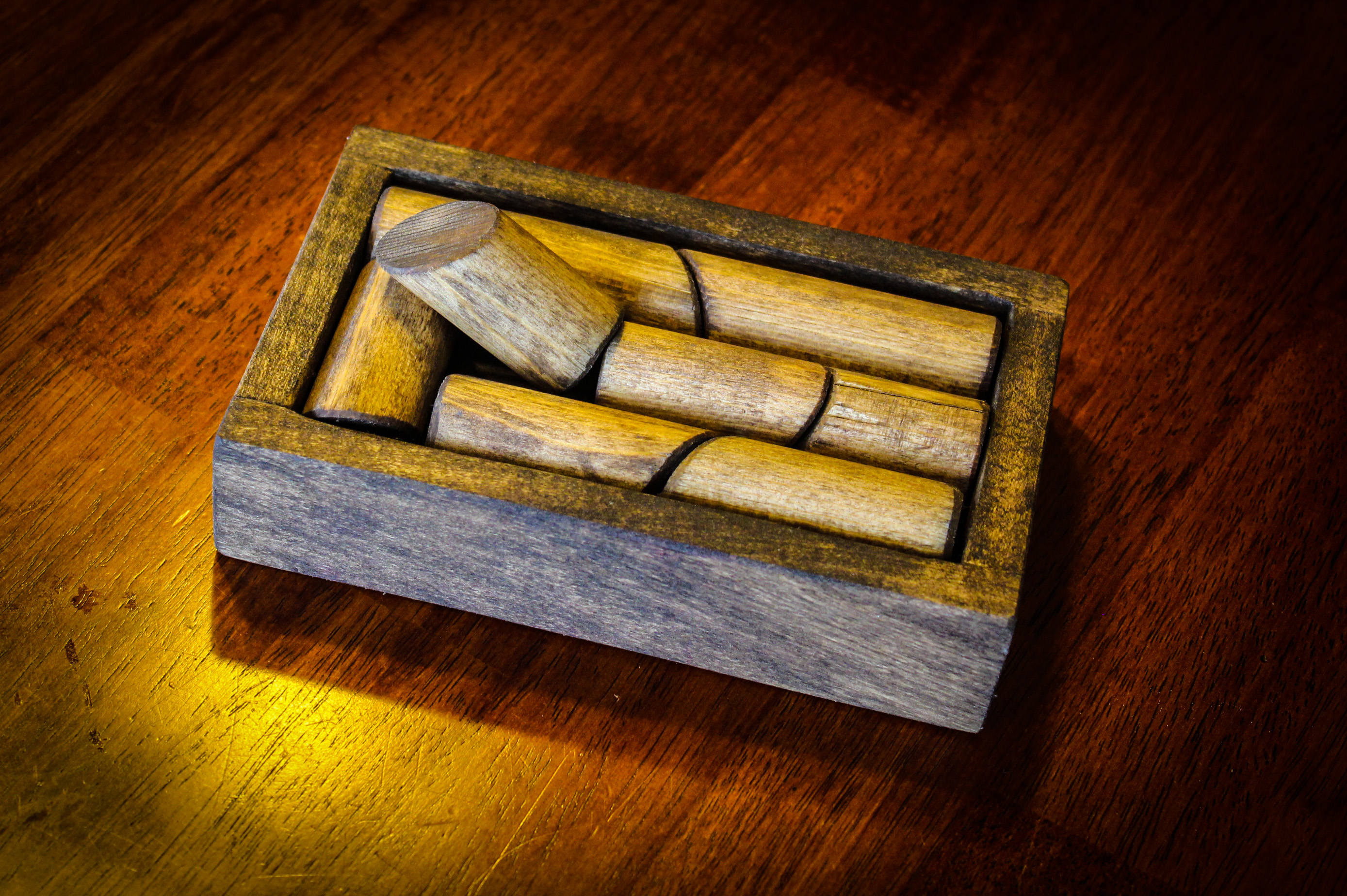 Picture of Wood Dowel Puzzle