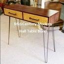 Mid-Century Modern Hall Table Build Pt.2