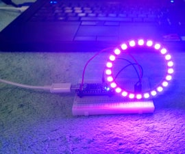 NeoPixel 24 Ring With Arduino