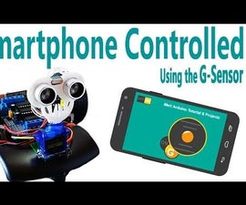 Arduino - Smartphone Controlled Arduino Robot Car Via Bluetooth (G-Sensor)