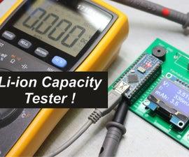 Li-ion Capacity Tester !