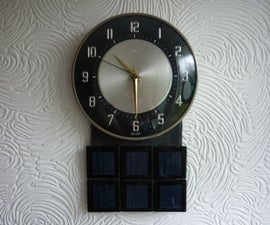How to Run a Battery Electric Clock on Solar Power--Part II