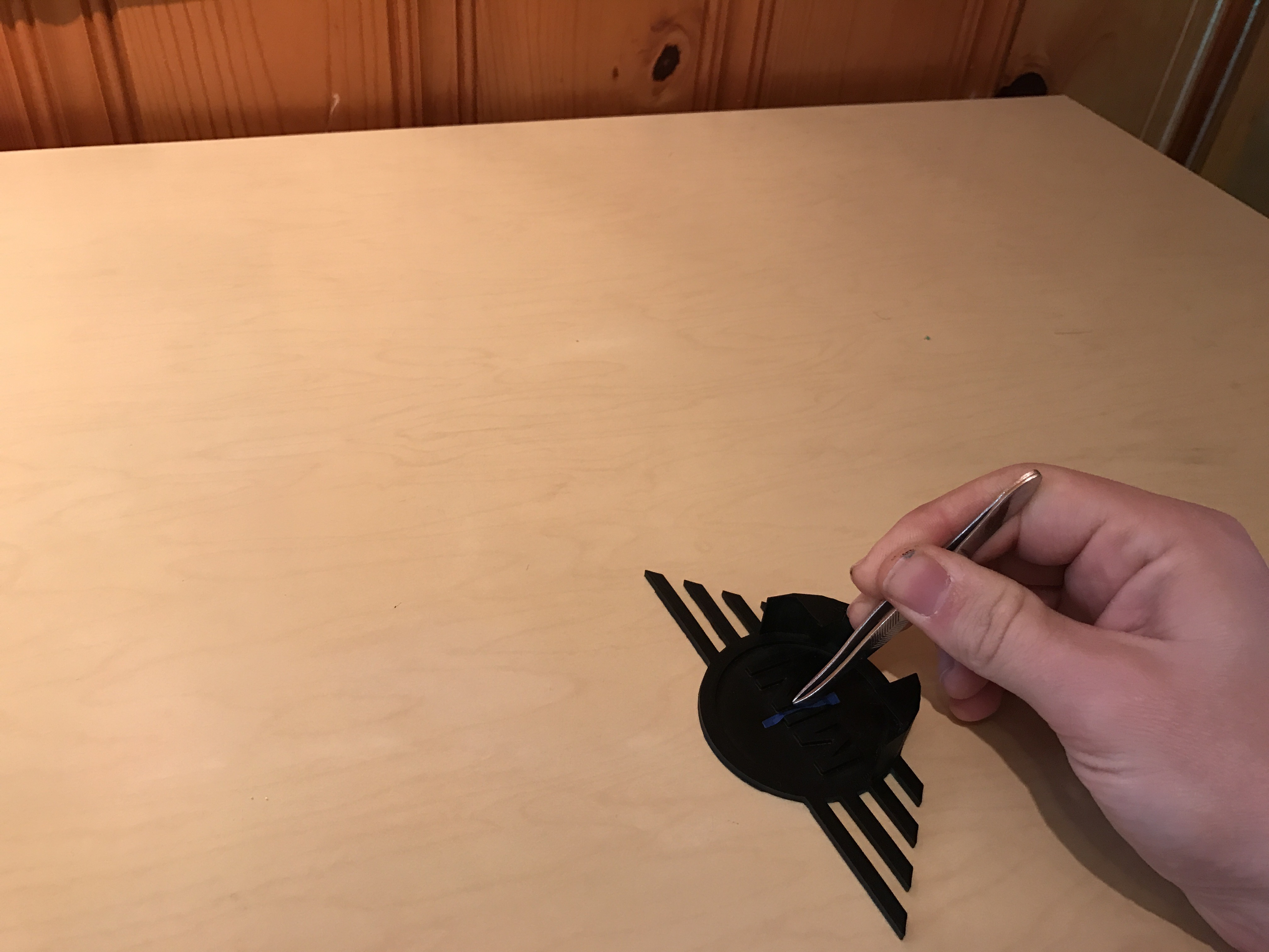 Picture of Tape Off the Model