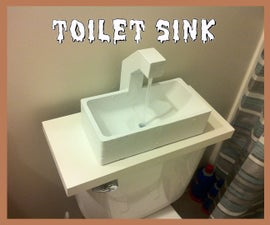 Save (a Little) Water with a 3D Printed Toilet Sink!