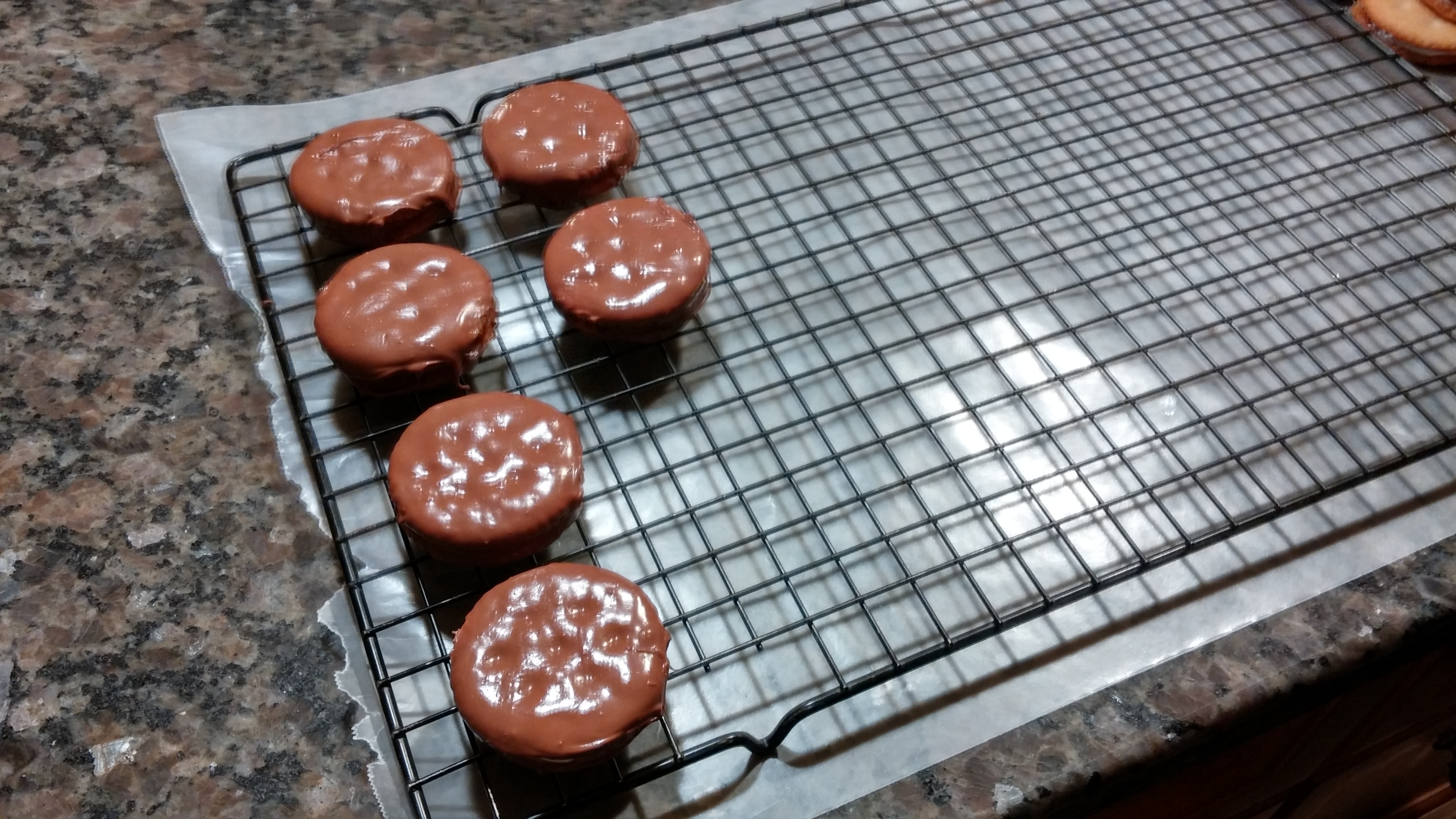 Picture of Coat Cookies With Chocolate
