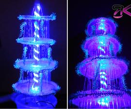 DIY LED Rainfall Fountain
