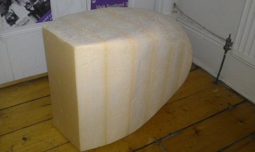 Acquire a Large Block of Foam