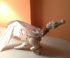 How to Make a Ukrainian Ironbelly Dragon From Harry Potter and the Deathly Hallows