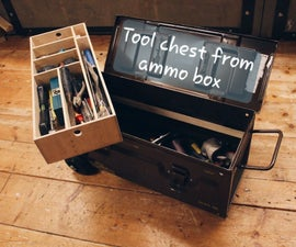 Tool Chest From Ammo Box