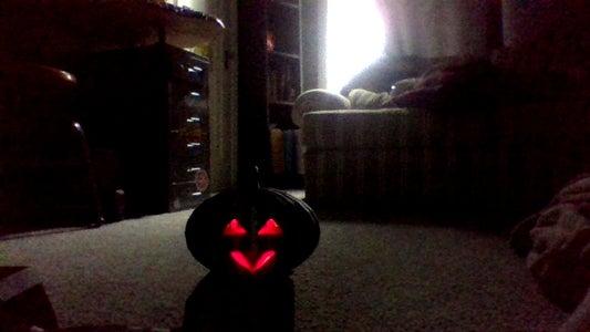 LED Pumpkin-Man