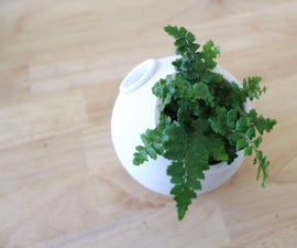 3D Printed Self-Watering Planter