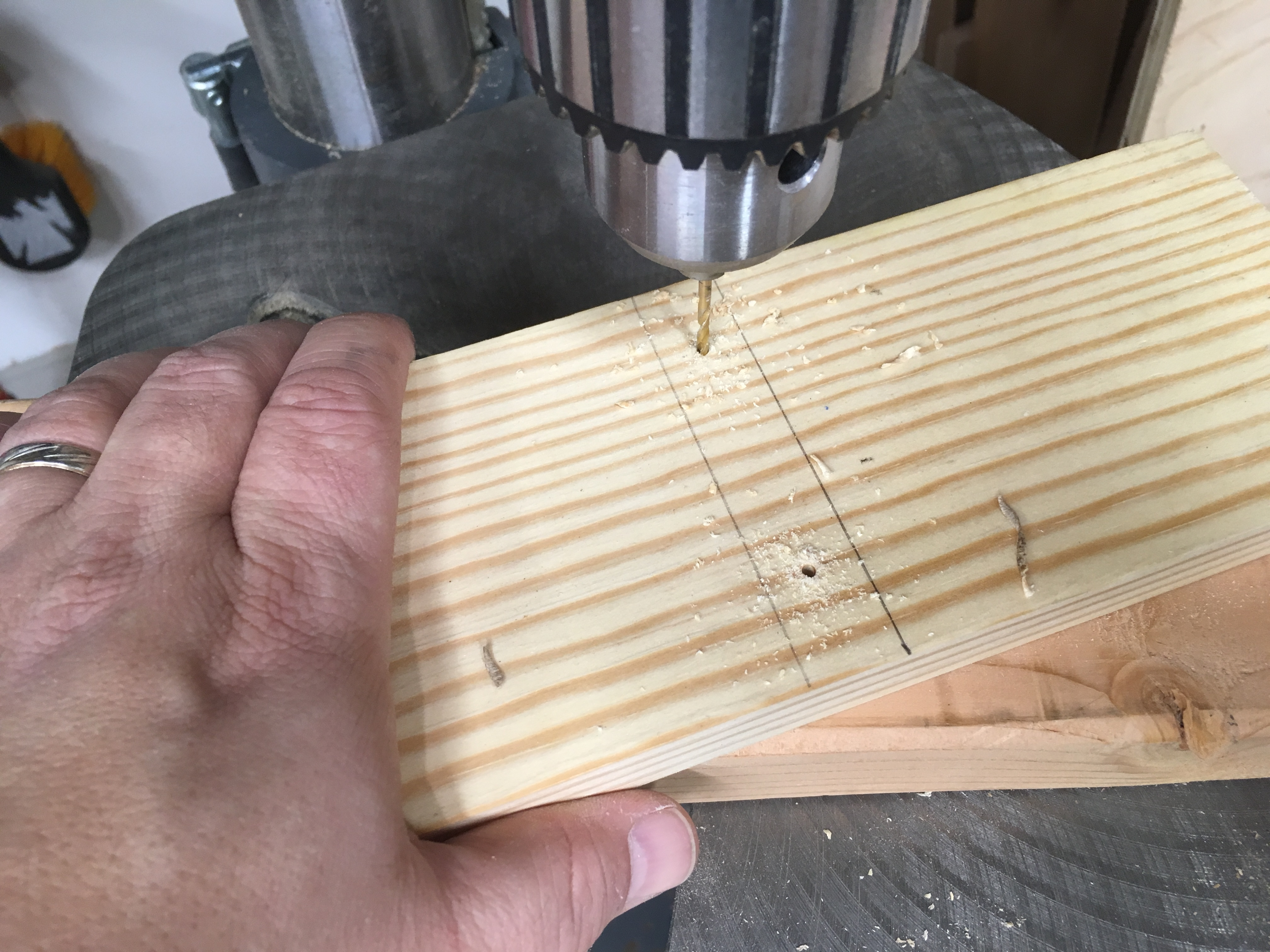 Picture of Vertical Supports -- Clamp Boards