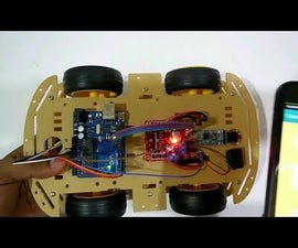 Bluetooth Controlled Robot Car