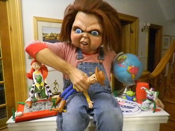 Toy Story Vs. Chucky Halloween Costume