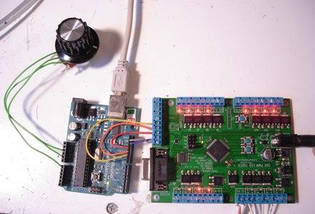 Add a Pot Input to the Arduino