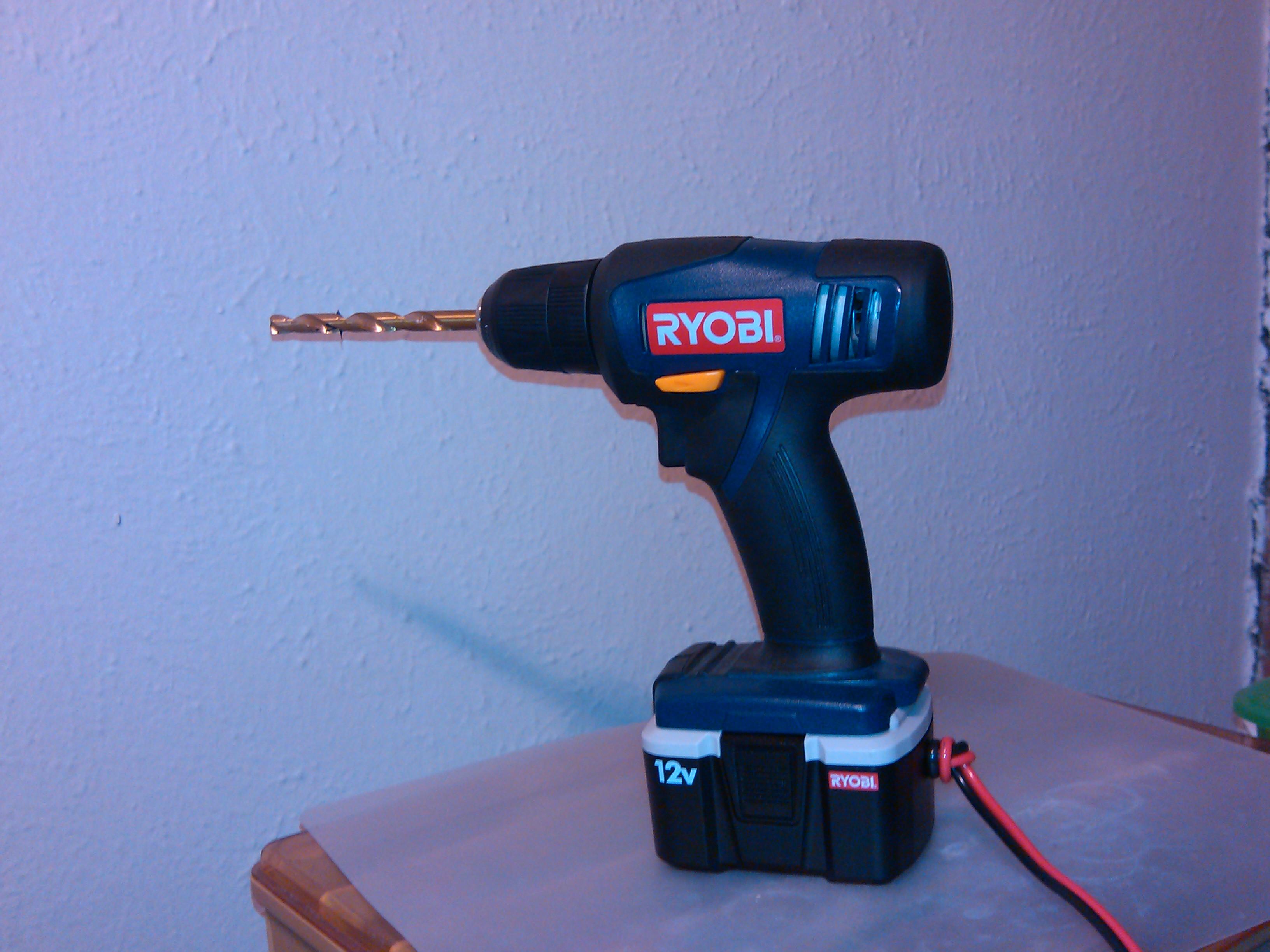 Picture of RYOBI Drill 12v Rebuild