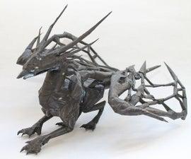 Paper Void Dragon - Divinity: Original Sin