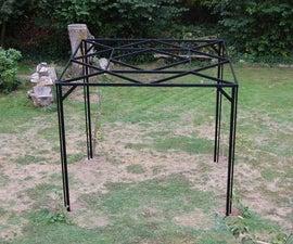 Garden Steel Pergola - for Kiwi and Grape