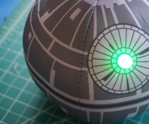 Blinking, Music Playing Death Star