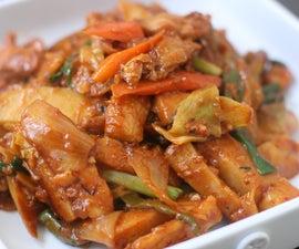 Extreme Pepper Chicken Stir Fry
