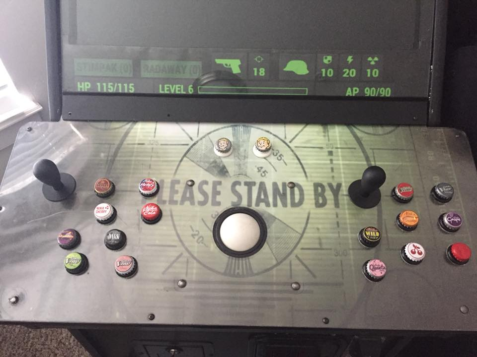 Picture of FALLOUT Inspired Arcade Cabinet, or Any Theme You Want