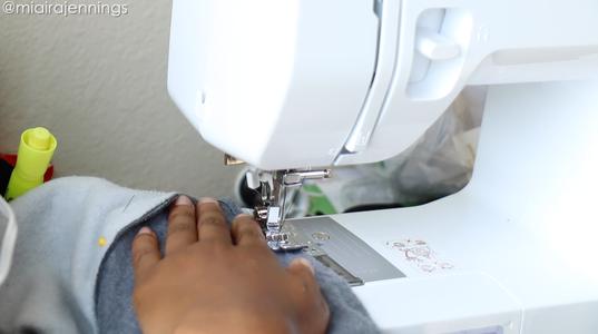 Sew Sleeves & Bottom