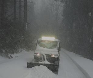 Polaris Brutus Intake Fix for Snow
