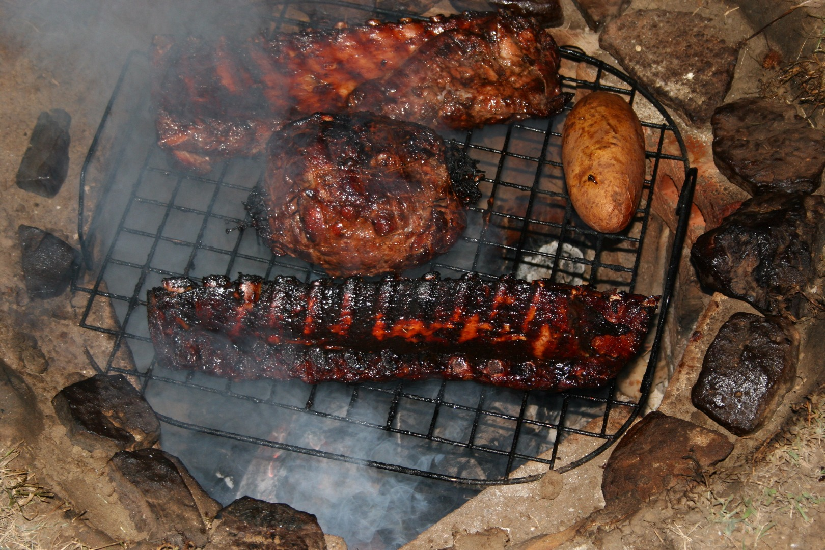 Picture of Pit-Smoked Ribs