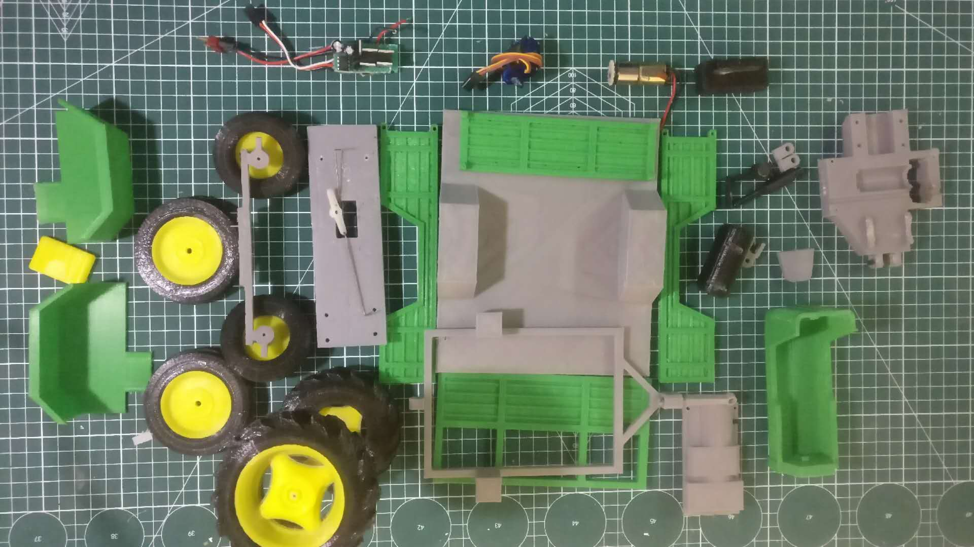 Picture of 3D Printing of Tractor Parts