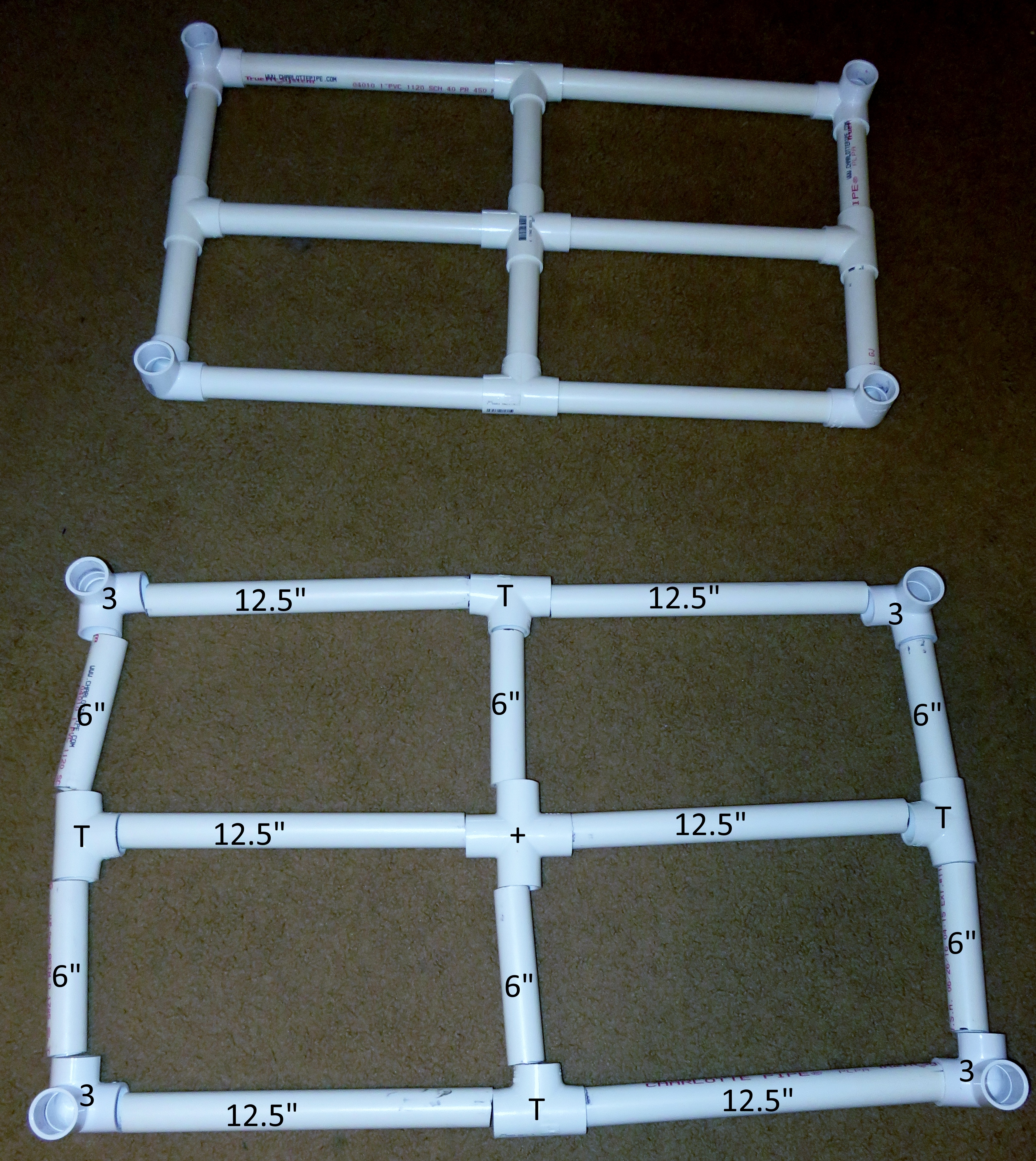 Picture of Assemble Bottom & Top Layer