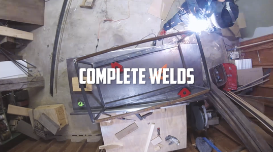 Weld Both Rectangles Together