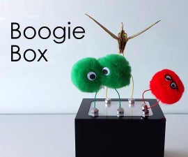 BOOGIE BOX: the Electromagnetic Dance Floor