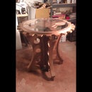 Steampunk Tables Theater Props