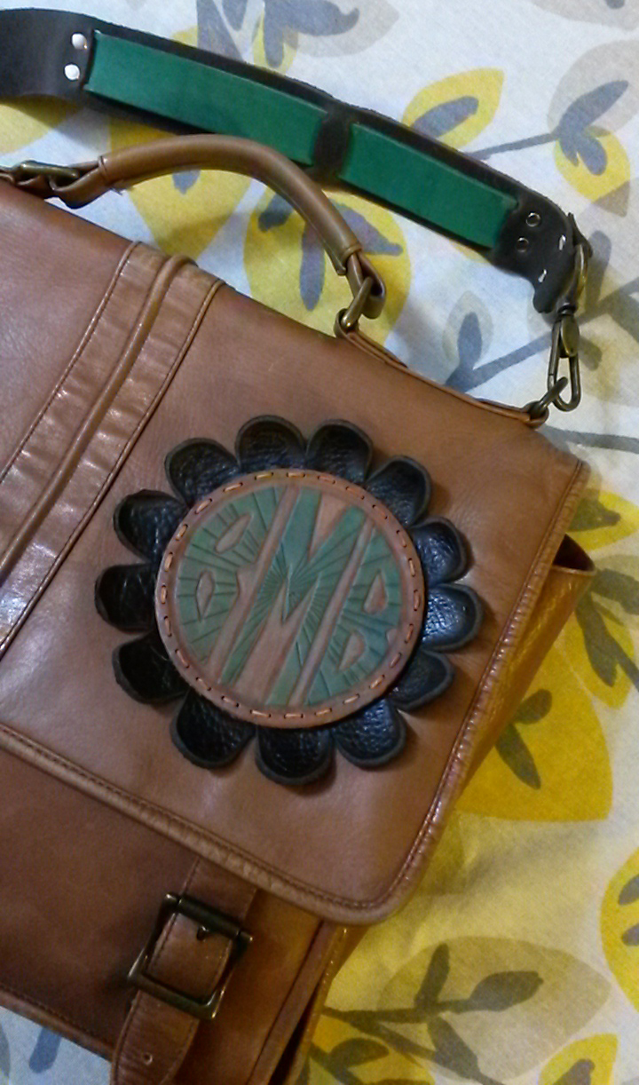 Picture of Refashioned Bag With Monogram